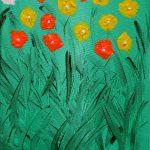 Flores de Masqali IV 19 x 25