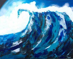 La gran Ola de Masqali 81 x 65