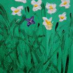 Flores de Masqali II 19 x 25