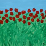 Flores de Masqali IV 24 x 33