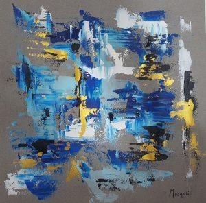 65.- Blues I 29 x 29