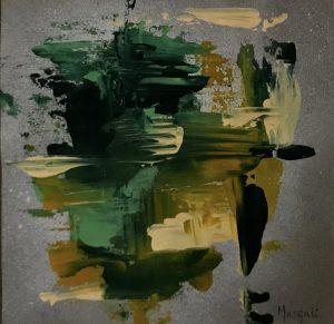 68.- Green II 24 x 24