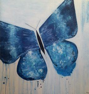 Mariposa de Luz 100 x 100
