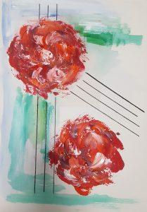 Las Flores de mi Vida II 42 x 30