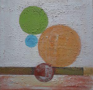 Los Círculos de la Vida I 50 x 50