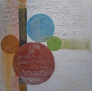 Los Círculos de la Vida II 50 x 50