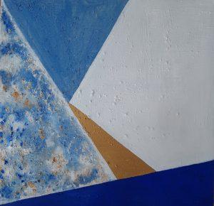 163.- Pirámide de Luz I 75 x 75