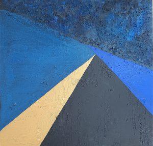 164.- Pirámide de Luz II 75 x 75