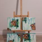 215.- Mini bouquets de Masqali 20 x 20