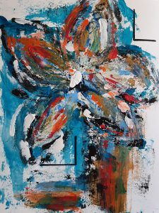 248.- Flores en el Cajón II 42 x 32