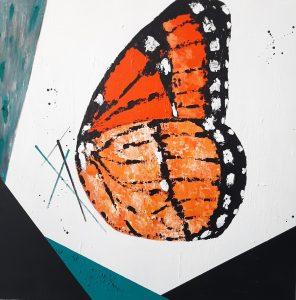 262.- The queen 100 x 100